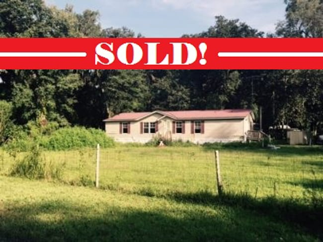 SOLD! ABSOLUTE AUCTION – MOBILE HOME AND LOT- WEBSTER FL
