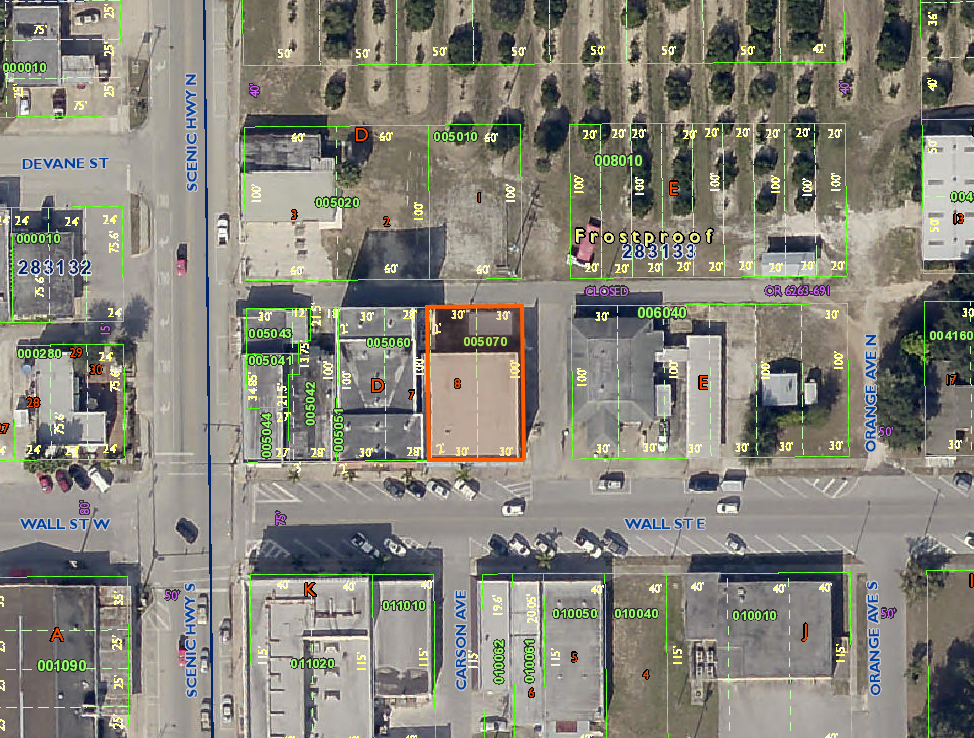 Frostproof Florida Map.Absolute Bank Owned 2 Story Commercial Building Frostproof Fl11