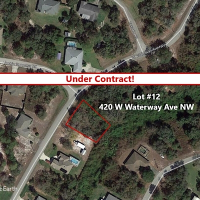 Lot # 12 Under Contract