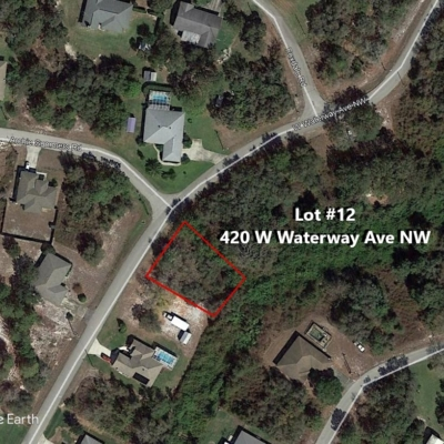 Lot #12 420 W Waterway Ave NW