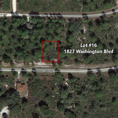 Lot #16 1827 Washington Blvd.
