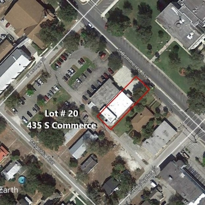 Lot #20 435 S Commerce Ave.