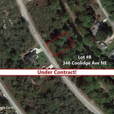Lot #8 Under Contract